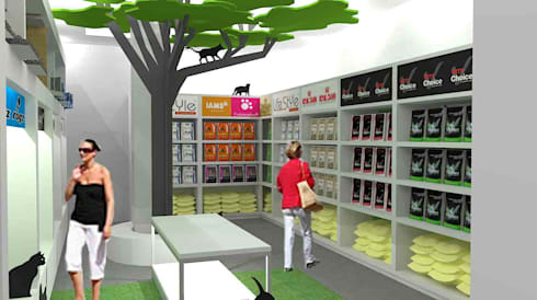 concept images:  Commercial Spaces by Till Manecke:Architect