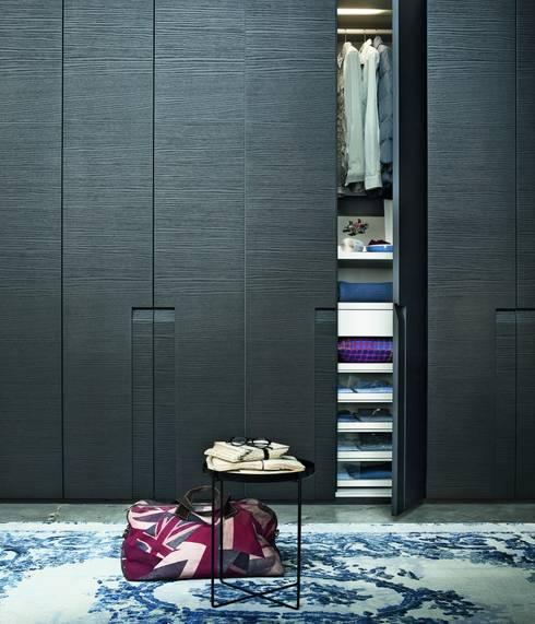 غرفة الملابس تنفيذ IQ Furniture