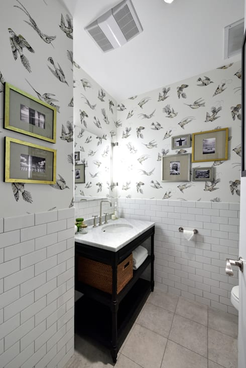 Renovation at 7 Wooster:  Bathroom by KBR Design and Build