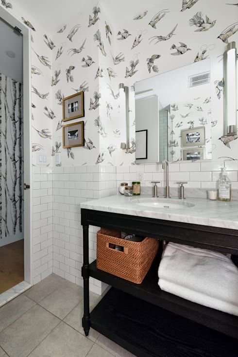 Renovation at 7 Wooster: modern Bathroom by KBR Design and Build