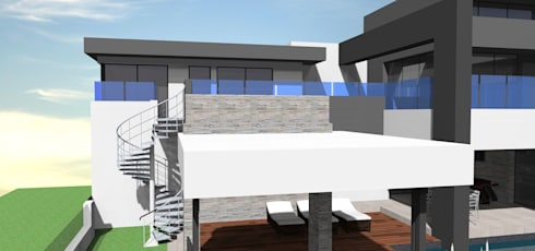 Steyn city project no 1: modern Houses by Pen Architectural