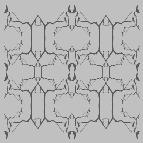 Swallow Wallpaper:  Walls & flooring by Lomas & Lomas