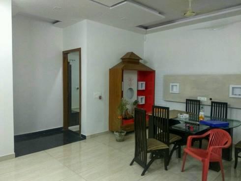 MR. VINOD GARG HOUSE AT FATEHABAD: modern Living room by Dream Homes Architect
