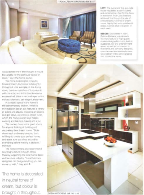 House Eye of Africa Golf & Residential Estate I: modern Kitchen by Metako Projex