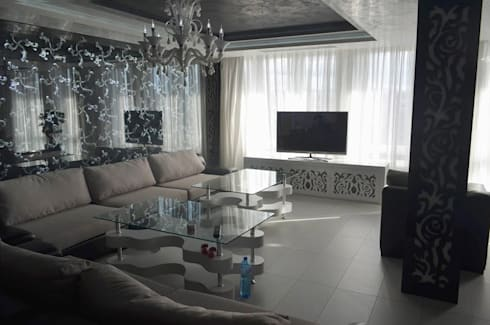 APARTMENT VD SOFIA: modern Living room by eNArch.info