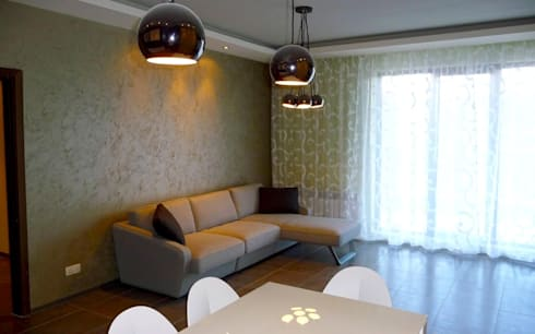APARTMENT KB SOFIA: modern Living room by eNArch.info