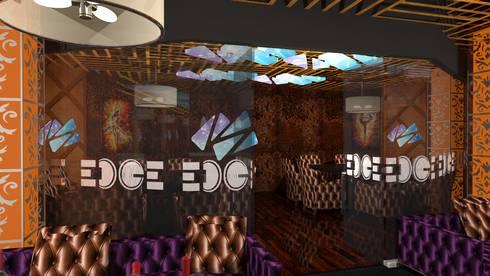 EDGE Night Club:  Bars & clubs by Gurooji Design