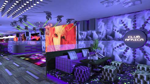 Club Africa:  Bars & clubs by Gurooji Design