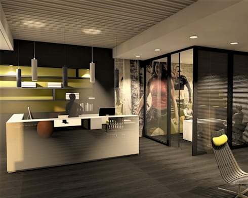 l 39 architecture commerciale por valerie barthe aic homify. Black Bedroom Furniture Sets. Home Design Ideas