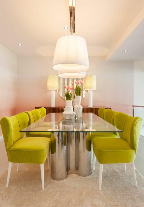 Projekty,  Jadalnia zaprojektowane przez Interdesign Interiores