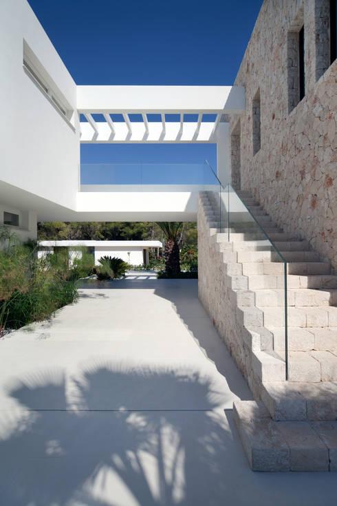 Casas de estilo mediterraneo por jle architekten