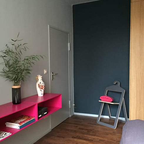 neugestaltung k che flur und schafzimmer von berlin interior design homify. Black Bedroom Furniture Sets. Home Design Ideas