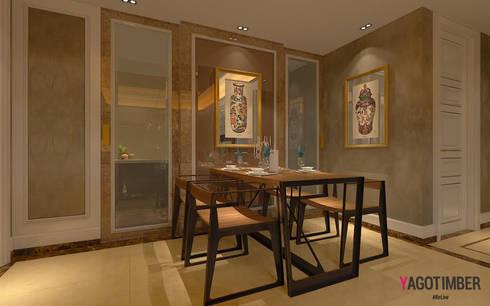 Dining Room Design Ideas: modern Dining room by Yagotimber.com