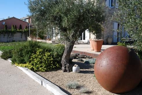 Un jardin facile d 39 entretien pour une residence scondaire for Jardin entretien facile