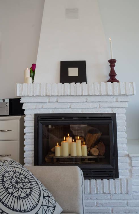 Salones de estilo  por Home & Haus | Home Staging & Fotografía