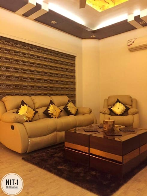 NIT-1 Faridabad : modern Media room by Avant Garde Design