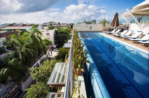 Dise o hotel artisan riviera maya de sanmartiarquitectos for Cuanto cuesta construir una piscina en colombia