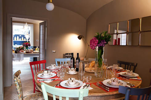 classic Dining room by NOS Design