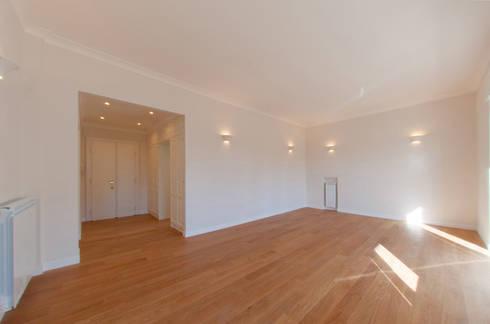 modern Living room by NOS Design