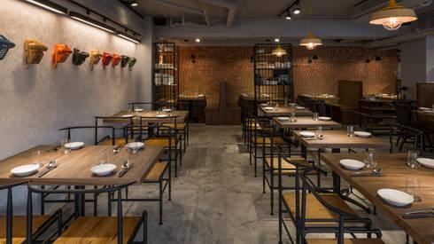 飯吧mini:  餐廳 by 齊禾設計有限公司