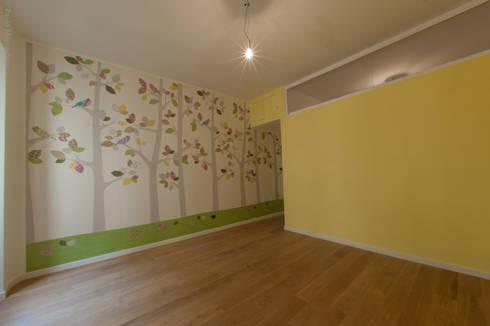 modern Nursery/kid's room by NOS Design
