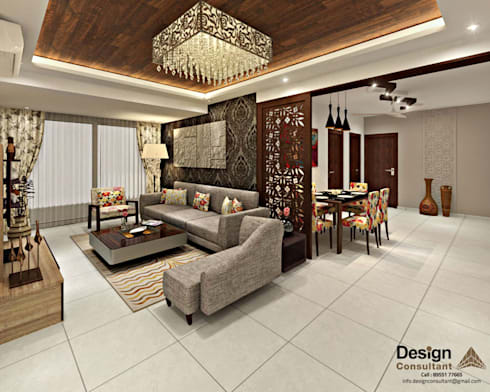 3bhk flat interior design and decorate at mangalam grand for 1 bhk room interior design ideas