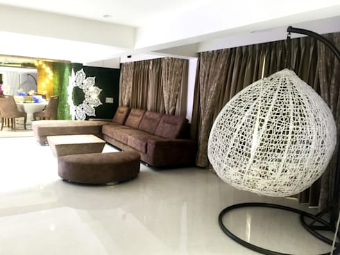 Passion: modern Living room by house2home