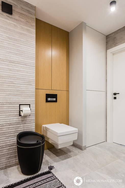 modern Bathroom by Michał Młynarczyk Fotograf Wnętrz