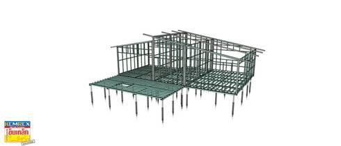สร้างบ้านด้วยเข็มเหล็ก:   by บริษัทเข็มเหล็ก จำกัด