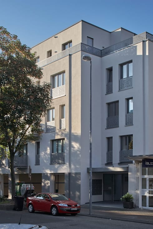 architekten bda naujack rind hof mehrfamilienhaus koblenz homify. Black Bedroom Furniture Sets. Home Design Ideas