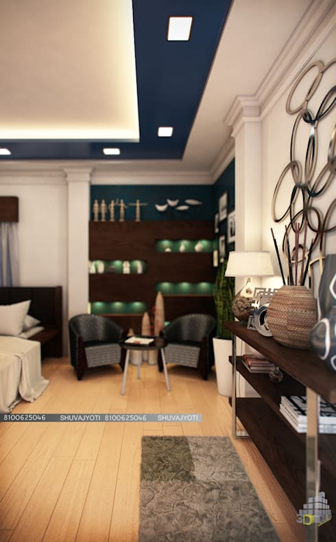 3D VISUALIZATION: classic Bedroom by FREELANCE