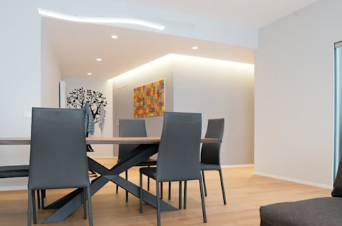 modern Living room by 07am architetti
