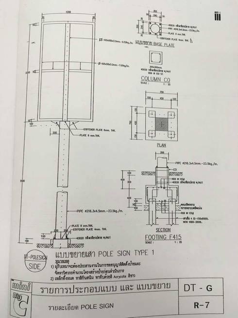 งานฐานรากป้าย Big C mini ดร.ณรงค์:   by บริษัทเข็มเหล็ก จำกัด