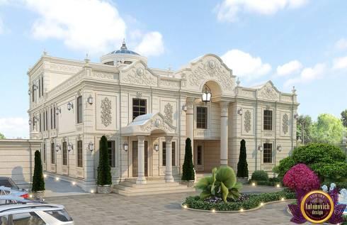 Royal villas design of Katrina Antonovich: classic Houses by Luxury Antonovich Design