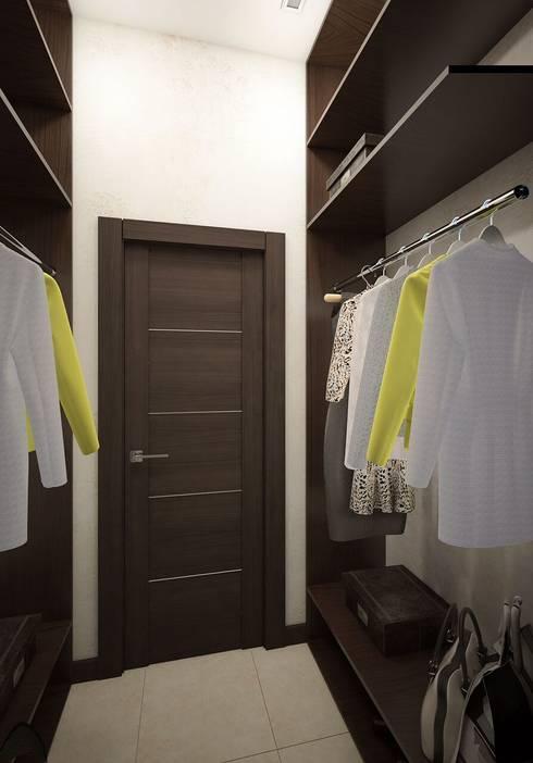 غرفة الملابس تنفيذ Вира-АртСтрой