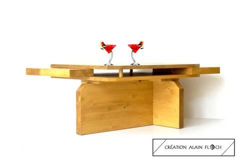 table basse feng shui par vpa design homify. Black Bedroom Furniture Sets. Home Design Ideas