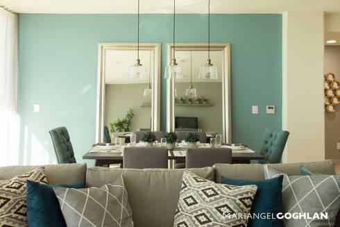 Proyecto Palmas: Comedores de estilo moderno por MARIANGEL COGHLAN