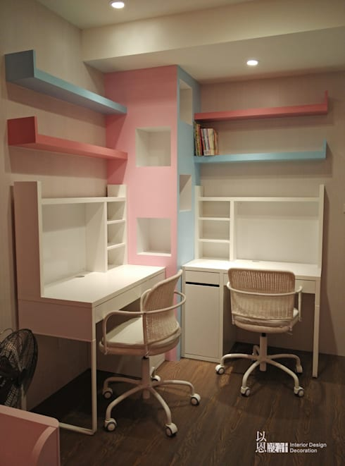 兒童房:  嬰兒房/兒童房 by 以恩設計