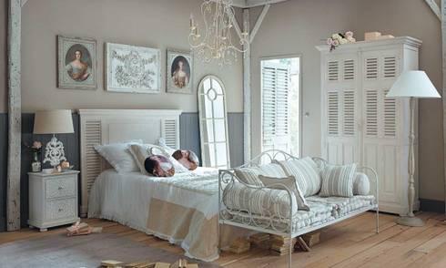 Logra tu dormitorio Vintage: Hogar de estilo  por Florencia sanchez freelance