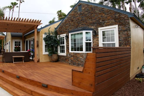 Point Loma Custom House Painting, Refacing, and Staining on Chatsworth: modern Houses by Procoat Painting