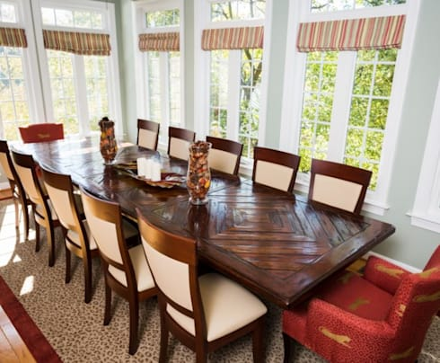 More interior ideas: classic Dining room by Lux Design Associates