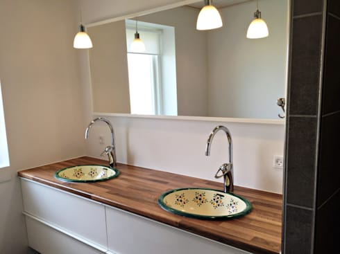 mexikanische waschbecken f r sommerlich gute laune von mexambiente e k homify. Black Bedroom Furniture Sets. Home Design Ideas