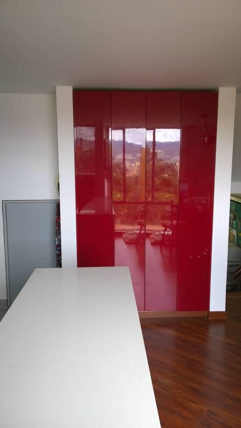 Apartamento Boyacá 161: Cocina de estilo  por BIANCO ED