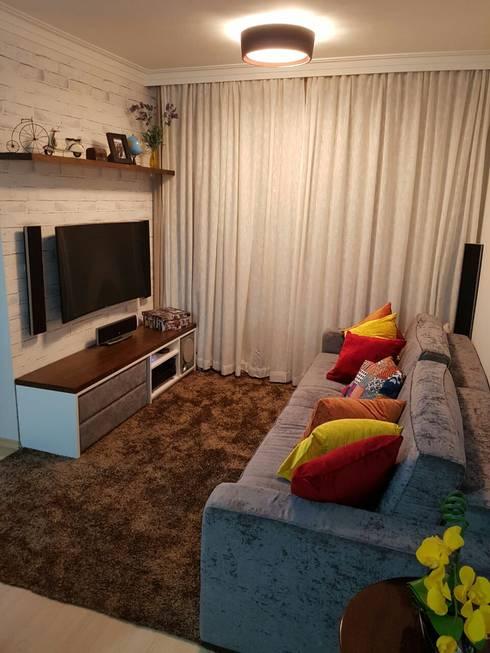modern Living room by Arquiteta Elaine Silva