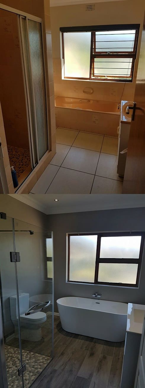 Bathroom renovation:   by Mybuilders