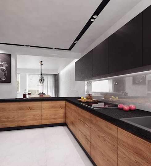 INTERIOR: modern Kitchen by Midas Dezign