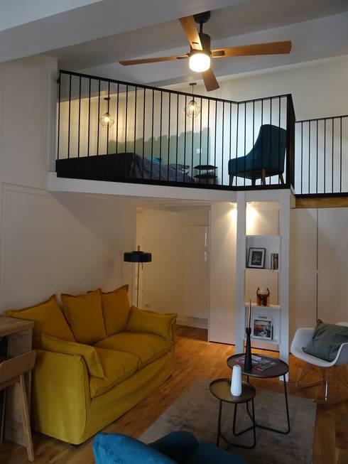 r novation et d coration d 39 un appartement lyon bellecour. Black Bedroom Furniture Sets. Home Design Ideas