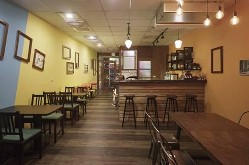 懷舊食堂:  餐廳 by 墐桐空間美學