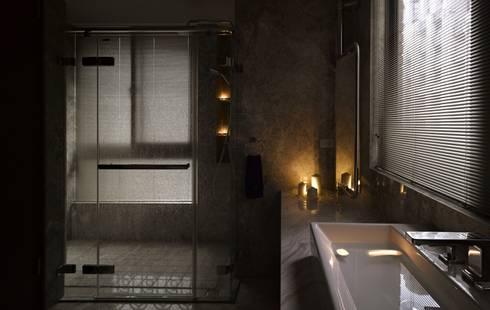 葛里法住宅設計:  浴室 by 墐桐空間美學