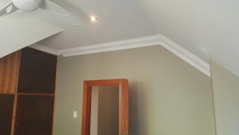 New cornices and painting:   by BAC PAINTERS AND RENOVATORS